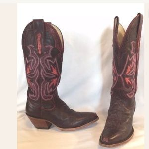 Hondo Women's Western Cowboy Boots